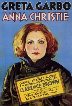 Anna Christie starring Greta Garbo.