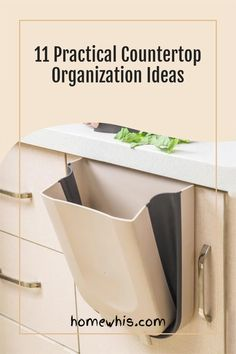Love to let your dishes air dry over the sink? Want to keep your kitchen countertop clear and free of clutter at all times? Then here are 11 incredibly smart ways to organize your kitchen sink that will give you more storage space, eliminate clutter and ensure that your kitchen stays organized 24/7. Read the post now! #homewhis #countertoporganization #kitchenorganization #declutter #cabinetorganization #undersinkorganization #sinkorganization Kitchen Countertop Organization, Under Sink Organization, Kitchen Countertops, Kitchen Sink, Home Organization, Under Shelf Basket, Basket Shelves, Extra Storage Space, Storage Spaces