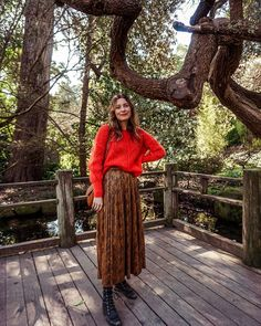 Erica Stevens (@tiny_acorn) • Fotos e vídeos do Instagram Maxi Skirt Outfits, Stevie Nicks, Acorn, What I Wore, Lace Skirt, My Style, Skirts, How To Wear, Fall