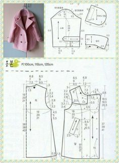 Выкройка пальто: