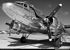 High quality photo of SAS – Flygande Veteraner Douglas Skytrain by Sebastian Elijasz. Visit Airplane-Pictures… for creative aviation photography. Douglas Dc3, Miss Virginia, Douglas Aircraft, Old Planes, Airplane Photography, Passenger Aircraft, Airplane Art, Vintage Airplanes, Vintage Trains