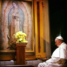 Pope Francis in Mexico.