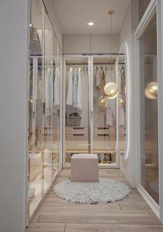 Wardrobe Design Bedroom, Room Design Bedroom, Girl Bedroom Designs, Room Ideas Bedroom, Home Room Design, Bathroom Interior Design, Walk In Closet Design, Room Decor, Dressing Room Design