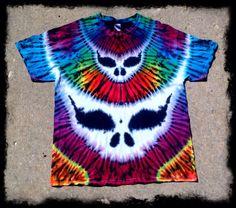 Handmade Tie Dye T shirt Grateful Dead by GratefullyDyedDamen, $65.00