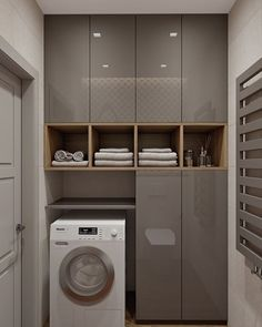 Laundry Room Ideas For Small Spaces That You Need It laundry laundryroom laundryroomideas &; Laundry Room Ideas For Small Spaces That You Need It laundry laundryroom laundryroomideas &; Laundry Room Cabinets, Laundry Room Storage, Laundry In Bathroom, Bathroom Cabinets, Bathroom Interior, Interior Design Living Room, Luxury Kitchen Design, Bathroom Ideas, Küchen Design