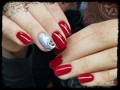 #MisteroMilano #manicuremisteromilano #misteromilano_official #teddybear #metoyou #gelnails #gelpaint #nails #salonnails #naildesign #instanails #gelpainting #colors #red #winter #christmas