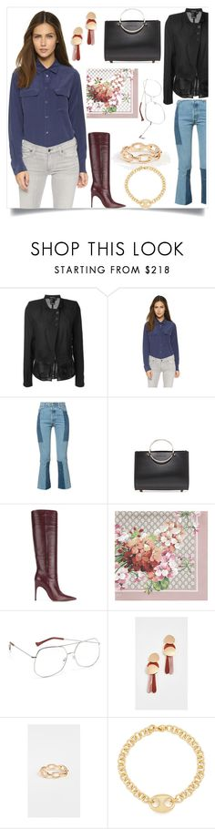 """Hall of fashion"" by gloriaruth-807 ❤ liked on Polyvore featuring Ann Demeulemeester, Sergio Rossi, Gucci, Grey Ant, Lizzie Fortunato, Jennifer Zeuner and Gabriela Artigas"