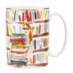 the book lover mug