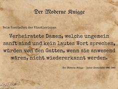 Aus: Der Moderne Knigge – Julius Stettenheim: Leitfaden für den Winter - beim Kostümfest #Zitate #LeLiFe
