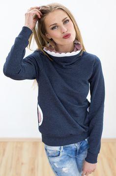 Pullover Pompidou in dunkelblau