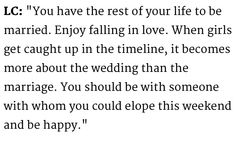 Lauren Conrad #Quote on Marriage. What's the rush?