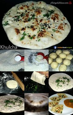 Kulcha recipe step by step