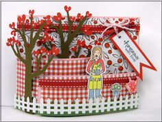 Gingham Gardening by LuvLee - Cards and Paper Crafts at Splitcoaststampers