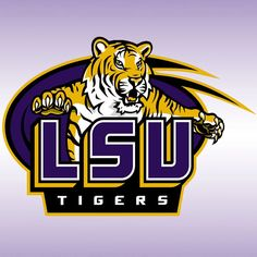 LSU Tigers Logo on Chris Creamer's Sports Logos Page - SportsLogos. A virtual museum of sports logos, uniforms and historical items. Lsu Mascot, Lsu Tigers Football, College Football, Football Team, Football Season, Football Quotes, Saints Football, National Signing Day, Football America