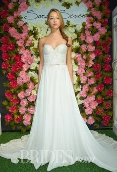 Sarah Seven Wedding Dresses Fall 2014 Bridal Runway Shows | Wedding Dresses Style | Brides.com