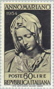 """""""Pieta"""" of Michelangelo"""