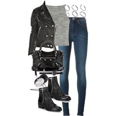 Untitled #2464 by angieswardrobe on Polyvore featuring Topshop, Acne Studios, 3.1 Phillip Lim, Balenciaga, ASOS, Witchery, Forever 21 and Burberry