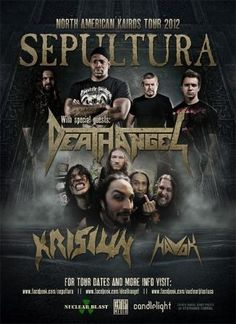 KRISIUN to kick-off tour with SEPULTURA, DEATH ANGEL, HAVOK next week