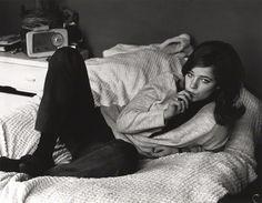 Portrait of Charlotte Rampling by Lewis Morley, 1963