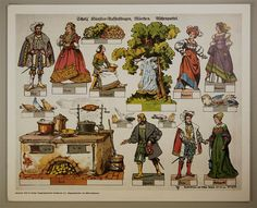 Aufstellbilder auf dickem Papier cm) No. P&P: lots of figures, with another variant of base consisting of some folding tabs. Pop Up Karten, Victorian Toys, Paper Art, Paper Crafts, Puppets For Kids, Snow White Disney, Toy Theatre, Up Book, Vintage Paper Dolls