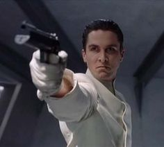 "Christian Bale as John Preston in ""Equilibrium"""
