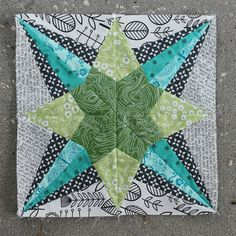 May Lucky Stars Block of the Month: The Spotlight Star | Flickr - Photo Sharing! Don't Call Me Betsy