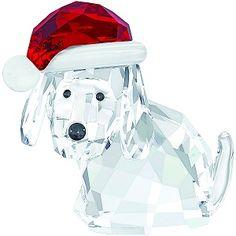 Macy's 5060449 Dog with Santa's Hat Christmas Crystal Figurine Swarovski Authentic MIB Santa Paws! This figurine from Swarovski makes a whimsical addition to your home for the holidays. Swarovski crystal Imported Dimensions: x x Swarovski Christmas Ornaments, Christmas Figurines, Swarovski Crystal Figurines, Swarovski Crystals, Dog Wear, Collectible Figurines, Glass Figurines, Christmas Dog, Christmas Stuff