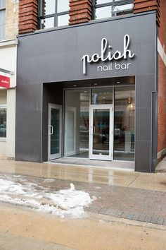 Modern Nail Bar Storefront and Interior Design 02