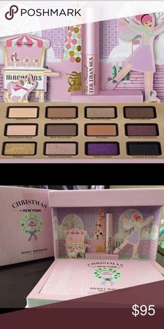 Too Faced Merry Macarons Holiday 2016 Too Faced Merry Macarons Holiday 2016 12-pan eyeshadow pallete no longer sold in stores or online 100% authentic brand new never used Tags kat Von D, becca, jeffree Starr, Anastasia Beverly Hills, lime crime, makeup geek, NARS, too faced, urban decay, artist couture, hourglass Too Faced Makeup Eyeshadow