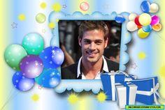 Marco de Feliz Cumpleaños para hombres Happy Birthday Frame, Happy Birthday Photos, Birthday Frames, Margarita, Diy And Crafts, Lily, Diana, Cabo, Norman