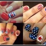 4th of july nails american nail designs