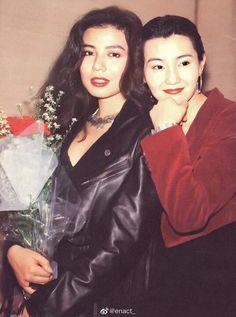 Loretta Lee, Brigitte Lin, Maggie Cheung, British Hong Kong, Retro Makeup, 90s Girl, Jackie Chan, Cosmic Girls, Back To The Future