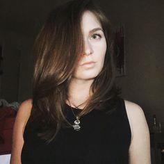 Brunette beauty. Hair by SALON by milk + honey stylist, Taylor G.