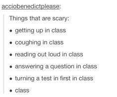 But class can also be hilarious. I have so many funny school stories so just… Funny Quotes, Funny Memes, 9gag Funny, Memes Humor, Social Anxiety, Anxiety Cat, Have A Laugh, The Villain, Text Posts