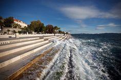 Sea Organ, Zadar, Croatia