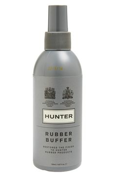Free shipping and returns on Hunter Rubber Boot Buffer Spray at Nordstrom.com. An easy-to-use spray restores the finish and helps maintain the quality of Hunter natural rubber boots.