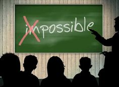Don't Build Barriers with the Word Impossible! #consciousness #buildingbridges