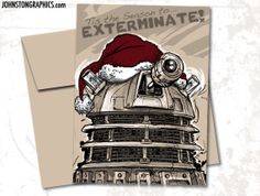 $3.00...Don't act like I am the only one looking at Doctor Who Christmas cards!
