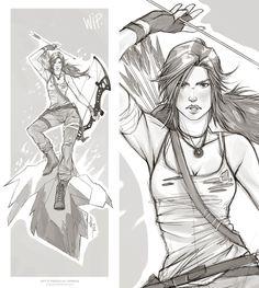 Tomb Raider by TholiaArt.deviantart.com on @deviantART