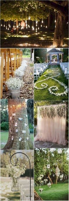 20 Great Backyard Wedding Ideas That Inspire | Weddings | Pinterest ...