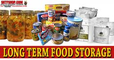 Long Term Food Storage Techniques & Ideas | Emergency Food