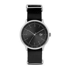 Harold Uhr - Schwarz/Metall