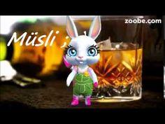 Müsli - ist fertig...Improvisieren das kann ich ,-), Whisky, Zoobe, Animation