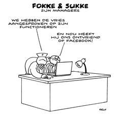 #Tegenlicht Fokke&Sukke zijn managers