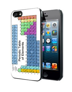 Periodic Table of Elements Chemistry Table Samsung Galaxy S3 S4 S5 S6 S6 Edge (Mini) Note 2 4 , LG G2 G3, HTC One X S M7 M8 M9 ,Sony Experia Z1 Z2 Case