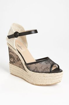 Valentino 'Glamorous' Wedge Sandal available at Nordstrom