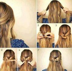 Hairstlye #1: Bow Tie