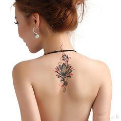 Lotus Flowers - Tijdelijke Tattooage
