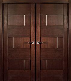 Modern door latest wooden main double door designs for Main double door design