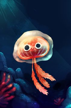 46 Best Ideas For Drawing Cartoon Smile Design Reference Jellyfish Drawing, Jellyfish Painting, Jellyfish Facts, Jellyfish Quotes, Jellyfish Tattoo, Jellyfish Tank, Watercolor Jellyfish, Jellyfish Aquarium, Art And Illustration